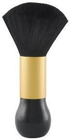Diane Large Neck Duster, Black and Gold by Diane  by