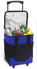 - Picnic at Ascot Original 32 Can Collapsible Rolling Insulated Cooler- Designed & Quality Approved in the USA