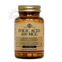 Folic Acid 400mcg 250 Tabs 3-Pack