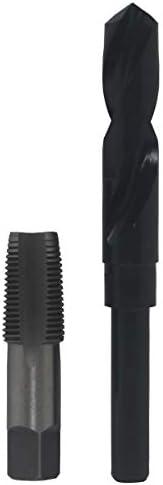"Drill America - POU1/2NPTW/DRILL 1/2"" Carbon Steel NPT Pipe Tap and 23/32"" High Speed Steel Drill Bi"