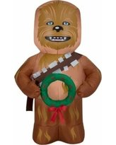 Disney Star Wars Chewbacca Airblown Inflatable Yard Decoration - 3.5 Feet -