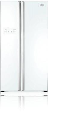 LG GRB2371ECWR Independiente A+ Blanco nevera puerta lado a lado ...