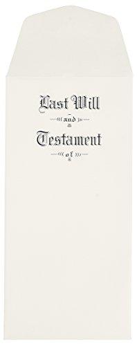Will Envelopes #2301 (Testament Envelopes)