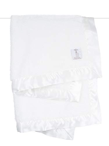 Chenille Cloth Cloth Burp - Little Giraffe Chenille Stroller Baby Blanket, White, 29