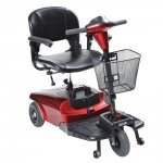 Drive Bobcat S38600 Mobility Scooter - 3 Wheel - Red - s38600