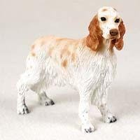 English Setter Figurine - English Figurine Dog Setter