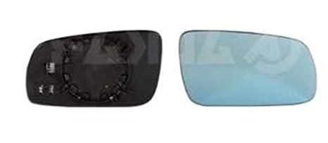 Derecho Cristal De Espejo (climatizada, Azul Cristal) y soporte para Seat Cordoba Vario, 1999 - 2002: Amazon.es: Coche y moto