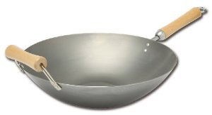 Joyce Chen 21-9978 Classic Series 14 Inch Carbon Steel Wok ()