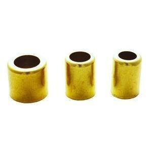 Milton 1654-8 23/32 OD Brass Hose Ferrule - Box of 10 by Milton Industries