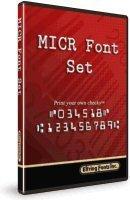 MICR / E13-B Font for Windows