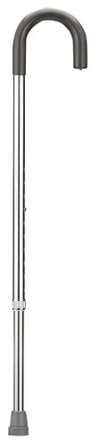 Drive Medical round handle aluminum cane adjusts from 30 to 39 inch for adult...