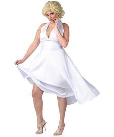 Size 24w Halloween Costumes (Marilyn Monroe Plus Size Costume)