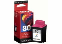 - Lexmark No. 80 Inkjet Cartridge Page Life 275pp Colour Ref 12A1980