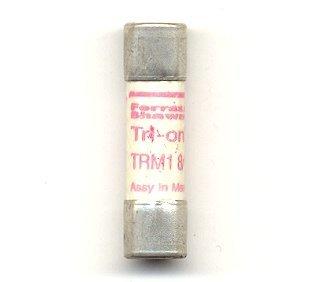Ferraz/Shamwut/Mersen TRM-1-8/10, 1.8Amp 250V Cartridge Fuse - Fnm Midget Fuse