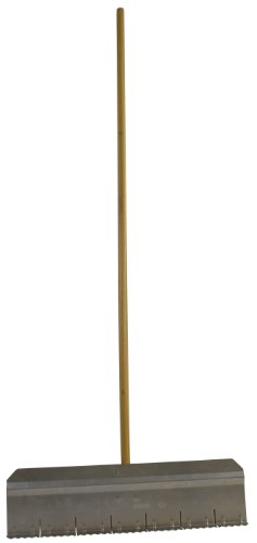 (Flexrake LAR123 24-Inch Pine Needle Rake with 54-Inch Wood Handle)