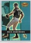 Wes Anderson #554/2,999 (Baseball Card) 2000 Bowman's Best - [Base] #160