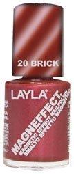 Layla Magneffect Nail Polish, Brick Orange