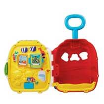 Vtech Roll & Learn Activity Suitcase - Pink - Vtech - Toys ...