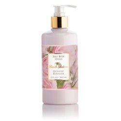 Camille Beckman Silky Body Cream, Glycerine Rosewater, 13 Ounce Rose Body Cream