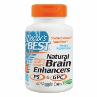 Doctor's Best Natural Brain Enhancers Featuring GPC & PS, Veggie Caps, 60 ea - 2pc