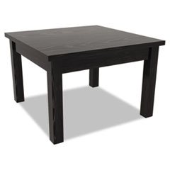 ** Valencia Series Occasional Table, Square, 23-5/8w x 23-5/8d x 20h, Black ** by 4COU