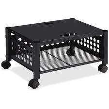 Vertiflex Mobile Underdesk Machine Stand, 21 x 17 x 11 Inches, Black (VF52009) (Rolling Cart Short)
