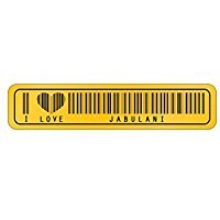 I Love Jabulani Barcode - Male Names - Street Sign for sale  Delivered anywhere in USA