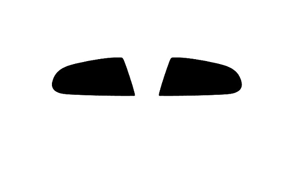 Application Kit Rvinyl Rtint Headlight Tint Covers for Pontiac G8 2008-2009
