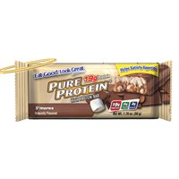 Protéines pures S'mores Value Pack 6-50 Bars Gram (Pack de 2)