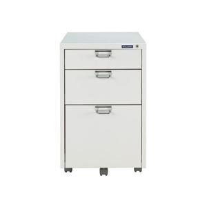 アイリスオーヤマ メタルキャビネット W400×D500×H625mm ホワイト MCB-33K-WH 1台 生活用品 [並行輸入品]   B01BHOWE92