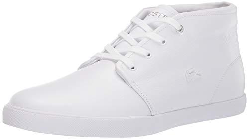 Lacoste Men's ASPARTA Sneaker, White, 8.5 Medium US (Lacoste White Sneakers)