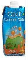 O.N.E. Coconut Water Mango Splash -- 16.9 fl oz