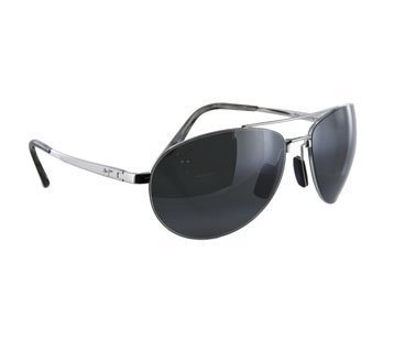 Maui Jim PILOT 210-17 Silver/Neutral - Jim Pilot Maui