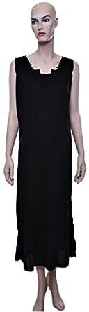 Mariposa Maxi Slip For Women - Xxl, Black