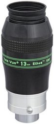 Tele Vue 13mm Ethos 2' / 1.25' Eyepiece with 100 Degree Field of View.