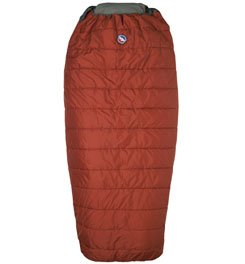 Big Agnes Buffalo Park 40-Degree Sleeping Bag(Quallofil), Long Right Zipper, Outdoor Stuffs