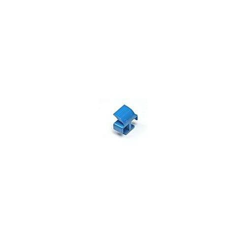 LC Clips for LC Singlemode Duplex Connector Clips 10 Pack Blue for Fiber Optic Cable