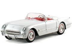 1953 Chevrolet Corvette White 1/32