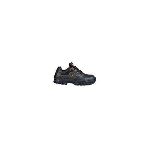 Cofra zapatos bajos de cuero negro volga S344