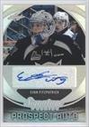 Signature Series Autographs Hockey Card (Evan Fitzpatrick #3/55 (Hockey Card) 2015 Leaf Signature Series - Signature Prospect Autographs - Gray #SP-EF1)