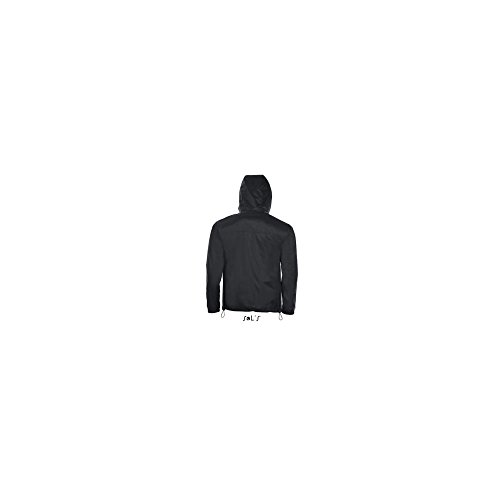 SOL´S Unisex Lined Windbreaker Skate, XXL, Black