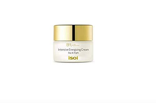 isoi Bulgarian Rose Intensive Energizing Cream - for dry & sensitive skin, ultra moisturizing, anti-aging, lifting, firming, brightening (60ml)