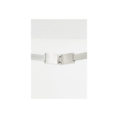 Tech Lighting 700TTCFXHIS T-TRAK Flexible Connector in Satin Nickel Finish by Tech Lighting