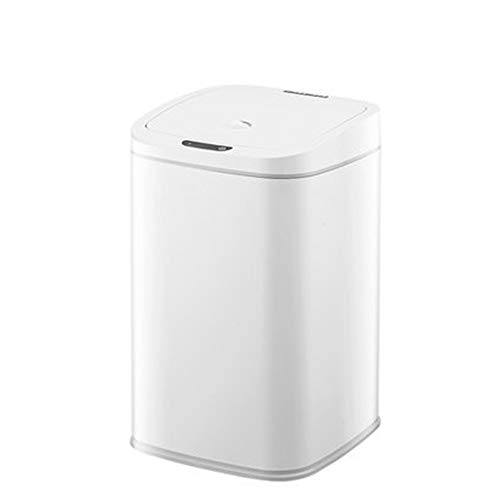JenLn Container met recycling 16L capaciteit Huis Tuin Kantoor Keuken Badkamer Afvalemmer Draagbare Intelligente…