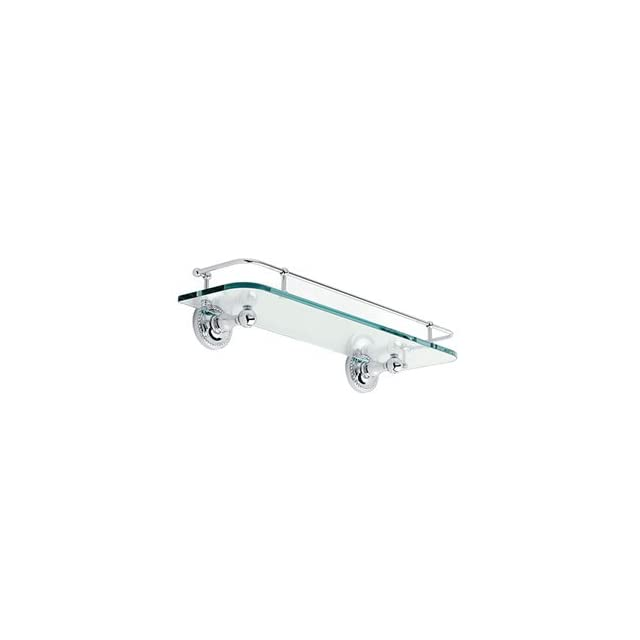 Ginger 1535T 18PC Polished Chrome 18 Gallery Shelf