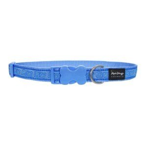 Red Dingo Hypno Blue full colour XS Dog Collar