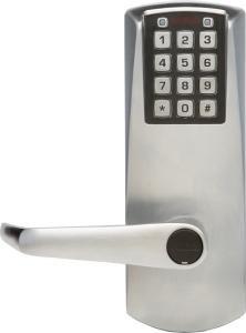 Kaba E-Plex 2031 Lever Electronic Push Button Lock