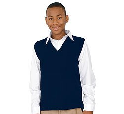 Amazon.com: French Toast Uniforms Kids' Unisex Sweater Vest (Navy ...