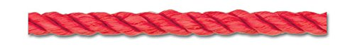 Red 4MM (3/16 Inch)TWIST CORD 10 ()