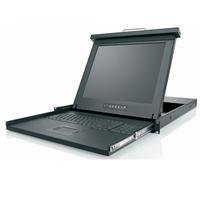 Belkin F1DC108H 19-Inch Rack Console Widescreen LCD with 8PORT KVM by Belkin